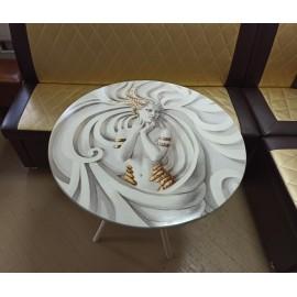 Стол кофейный с УФ-печатью
