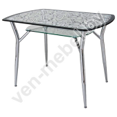 Стол стеклянный А6С2