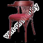"""Кресло из дерева """"Роза"""" арт. 120-01-2"""