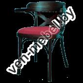 Кресло из дерева Роза арт. 120-01-2X