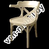 "Кресло из дерева ""Роза"" арт. 120-2X"