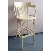 Кресло барное высокое жестким сидением Apollo (КМФ 305-2) краситель 326